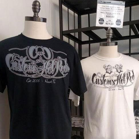 CnC Customs T-Shirts