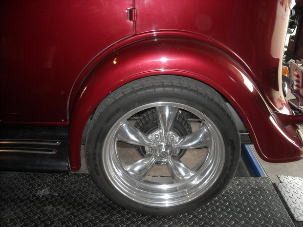 1934 Chevy Master Sedan Collision Repair