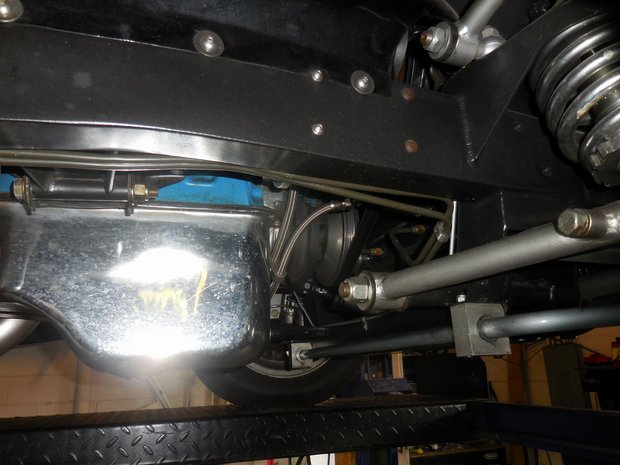 1934 Ford Series 40 Fuel Injection Install