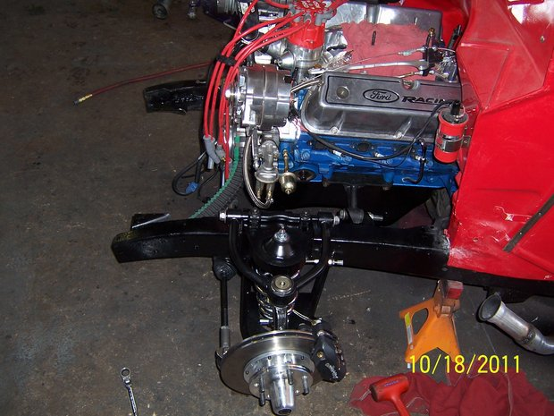 1936 Ford Pick-up Mustang II Install