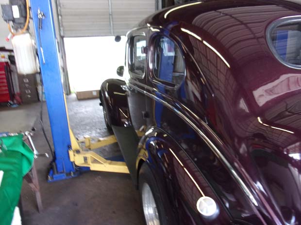 1937 Maroon Chrysler