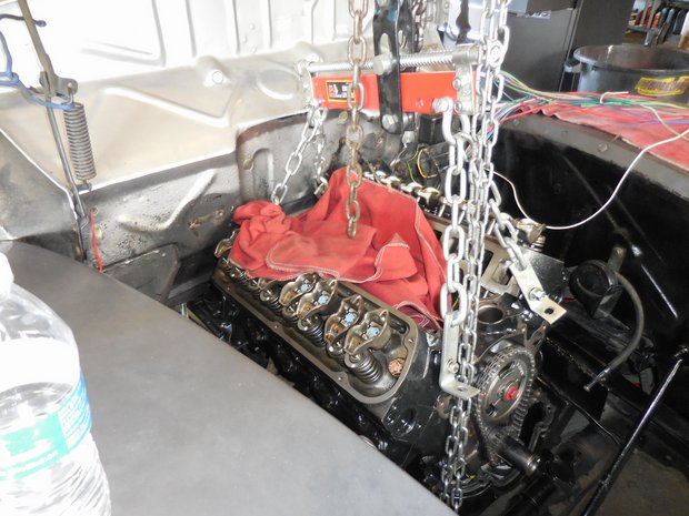 1940 Ford Opera Coupe 302 & AOD Install w/ New Wiring