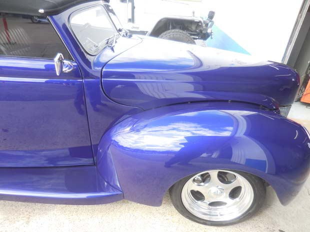 1940 Purple Ford