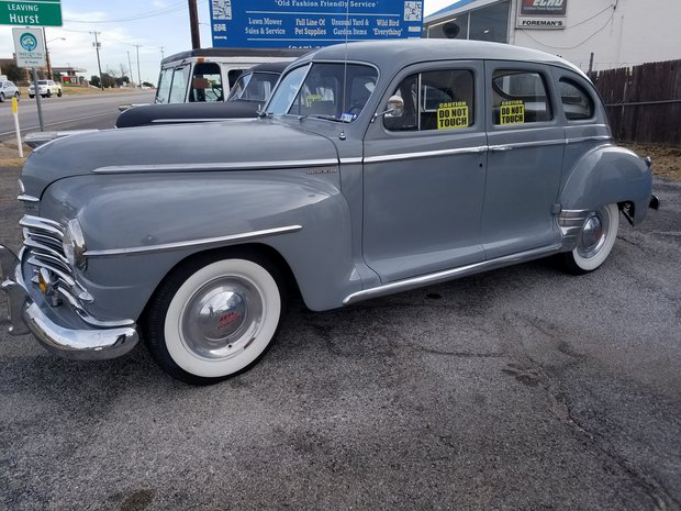 1947 Plymouth Special Deluxe Brake Upgrades