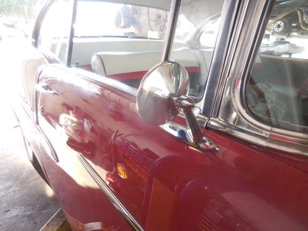 1955 Red and White Bel Air