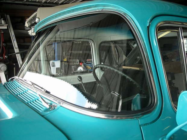 1959 Chevrolet Apache Windshield Install