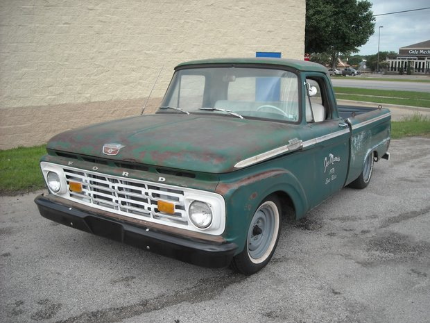 1964 Ford F100 Suspension and Engine