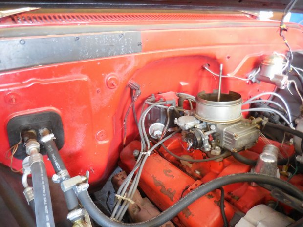 1965 Chevy C-10 Fuel Injection