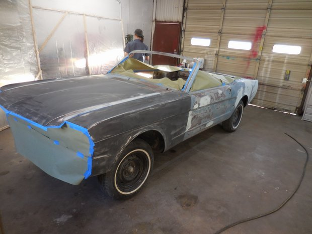 1965 Mustang Convertible Complete Restoration