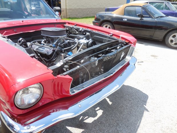 1965 Roush Mustang Completion