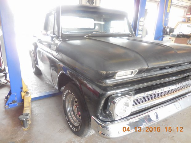 1966 Black C-10 Suspension Build