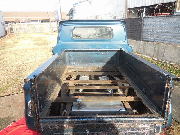 1966 Chevy C-10 Bed and Body Restoration