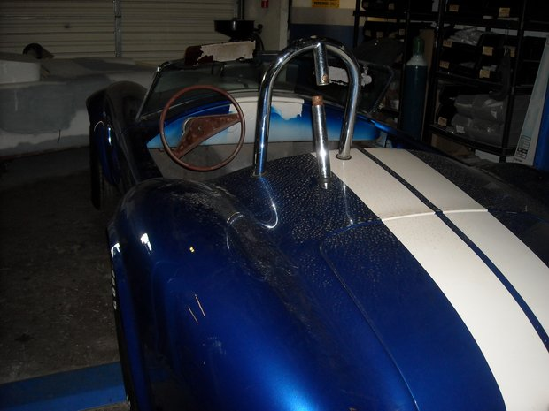 1966 Cobra Replica Build Up