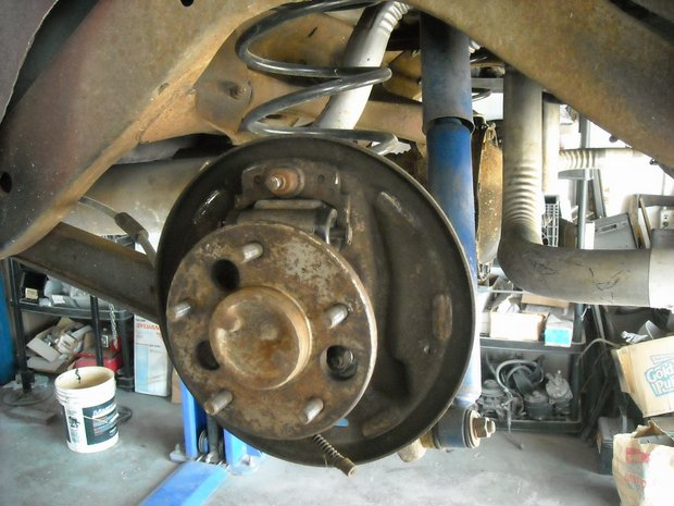 1966 Oldsmobile Cutlass Suspension Rebuild