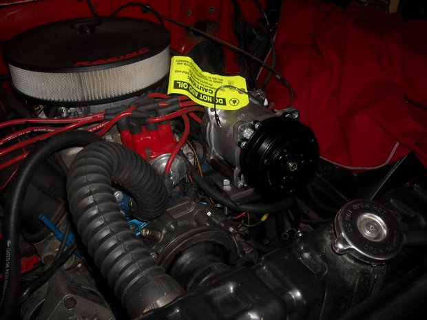 1966 Ford F-100 Power Steering and A/C