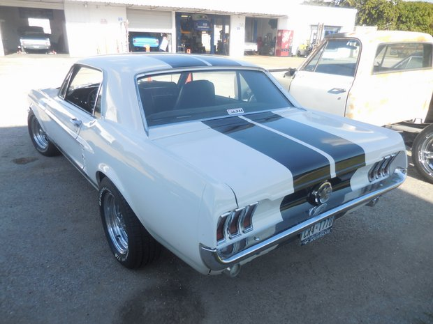 1967 Ford Mustang Restoration Project