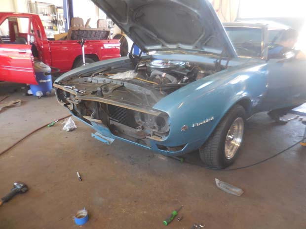 1968 Blue Firebird