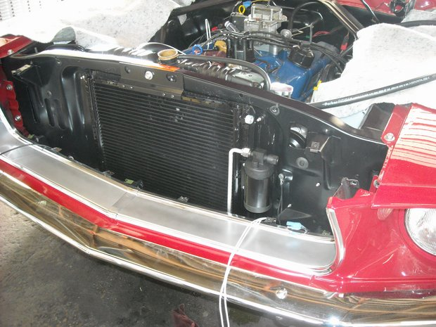 1968 Mustang A/C Install