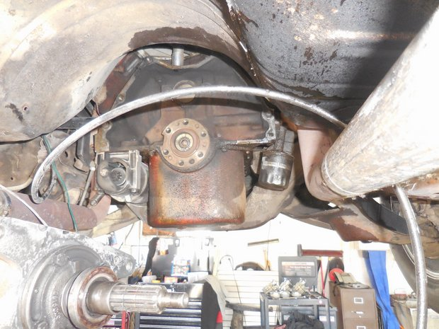 1969 Oldsmobile 442 Clutch and Transmission