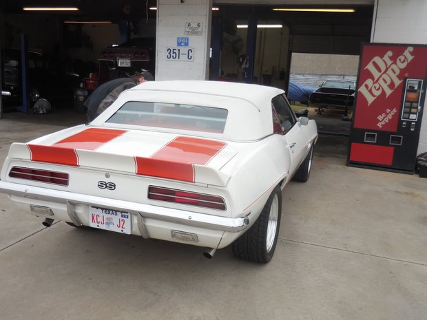 1969 Camaro Pace Car Suspension Upgrades