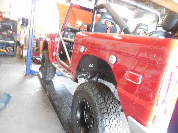 1971 Ford Bronco Completion & Break-In