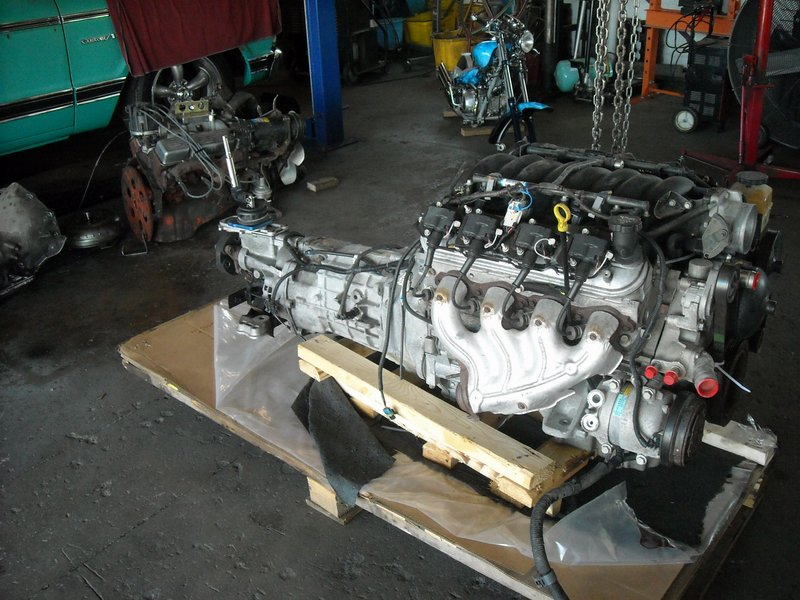 1971 Chevy C-10 LS1/T56 Install