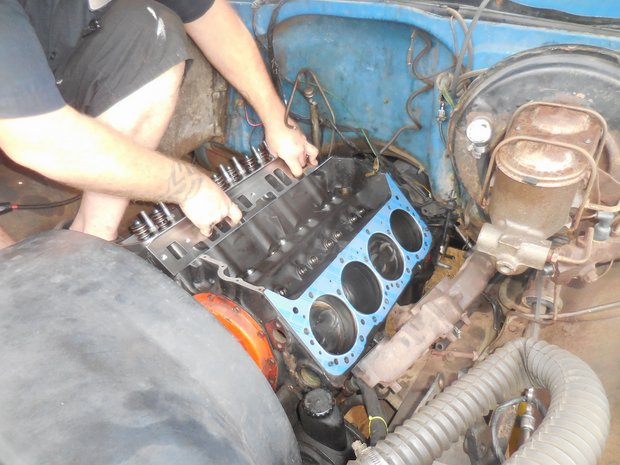 1972 Blazer Top End Rebuild