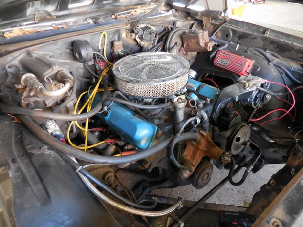 1972 Cutlass Rocket 350 Engine Rebuild