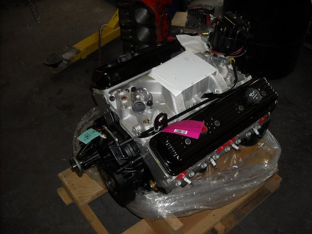 1972 GMC Truck Engine Swap