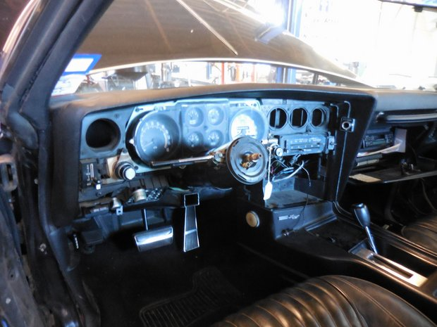 1977 Pontiac Grand Prix Dash Restoration