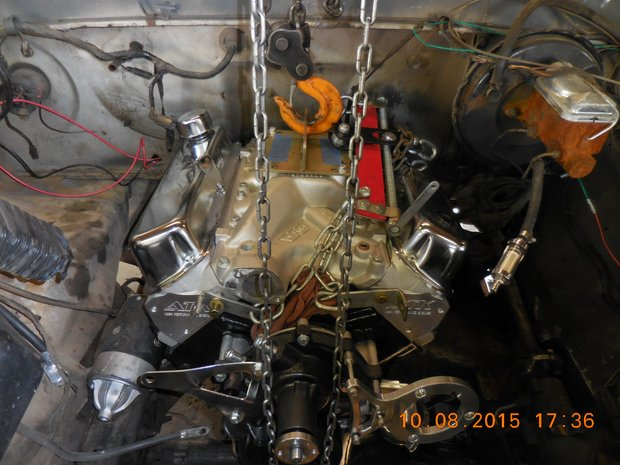 1978 Ford F-150 Engine/Trans Install