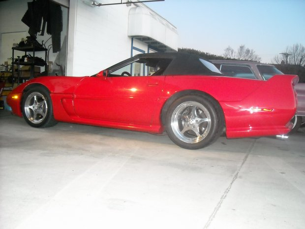 1989 Custom Lowered Corvette