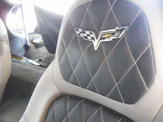 2005 Corvette ZLR Doors Custom Interior