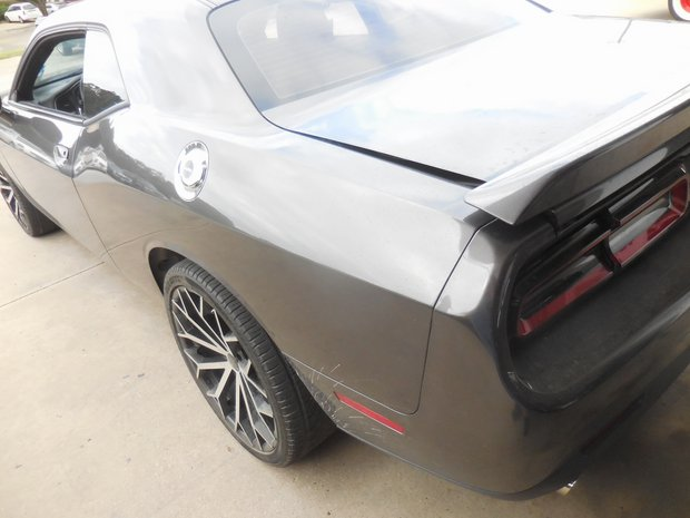 2015 Dodge Challenger Rear Wing Install